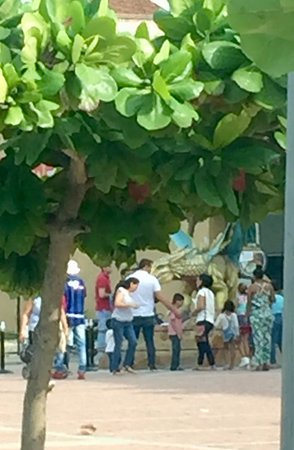 Mall Plaza El Castillo: Dragones fantásticos