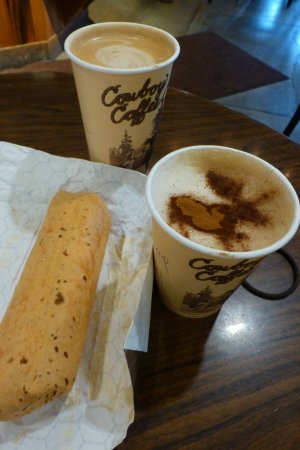Cowboy Coffee Co. : Latte, Cappaccino and breakfast Burrito