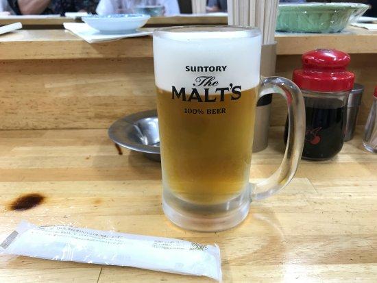 Higashimurayama, Japonya: 生ビール