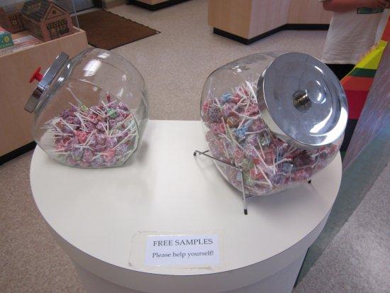 Bryan, OH: Free samples