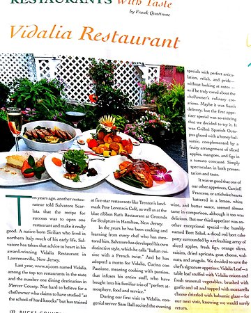 Lawrenceville, NJ: Vidalia Restaurant