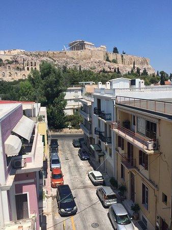 Acropolis View Hotel : Best view