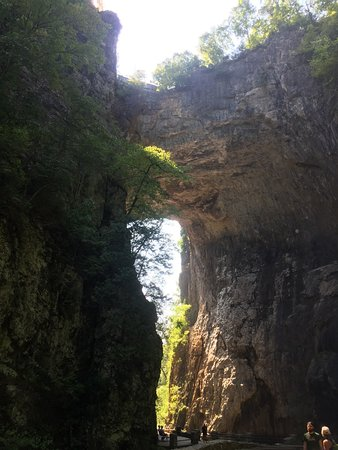 The Natural Bridge of Virginia照片