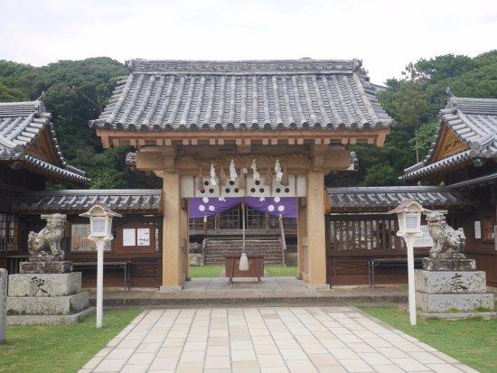 Kameoka Shrine : 神社正面