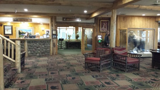 Saint Mary, MT: Lobby