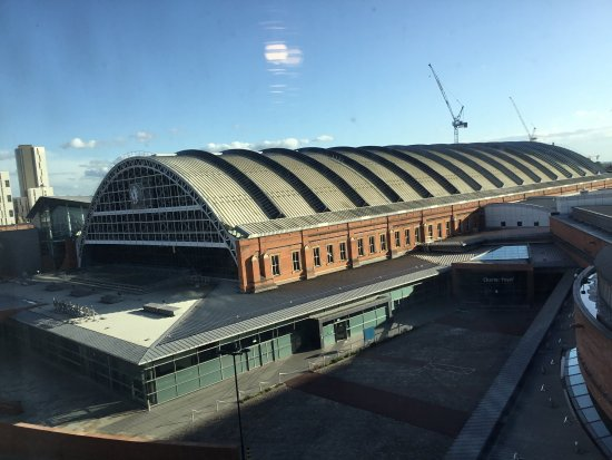 View of the convention centre and Skyline from the Radisson Blu Edwardian Manchester