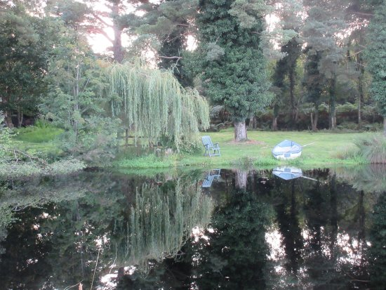 Belturbet, Ireland: And a pond, too! The details around this property are exquisite.