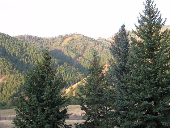 Ketchum, Айдахо: view from balcony