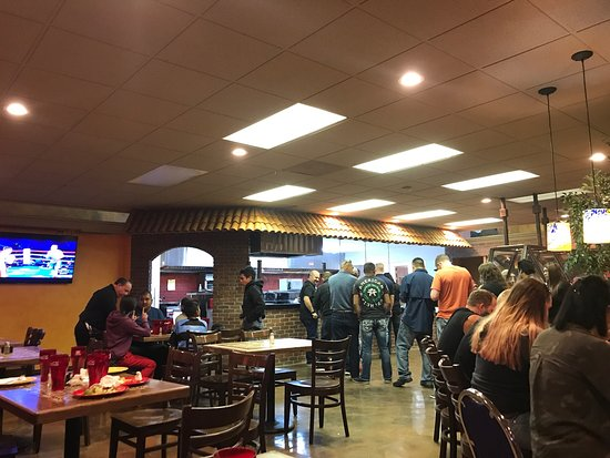 West Valley City, UT: The opening night of el paisa grill was coordinated with the canelo boxing fight 25 dollars entr