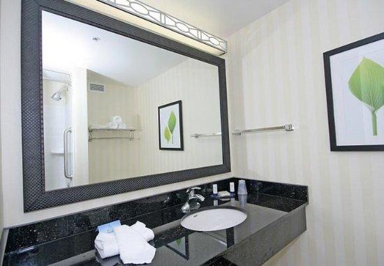 guest bathroom vanity - picture of fairfield inn & suites raleigh