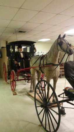 Troy, Αλαμπάμα: Horse Drawn Carriage - Pioneer Museum of Alabama