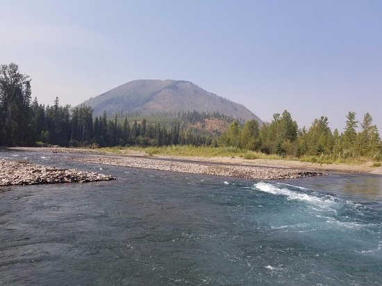 West Glacier, MT: Scenery from our float trip