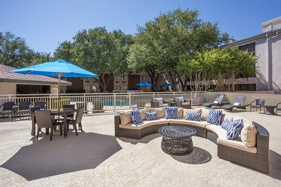 Addison, TX: Outdoor Patio - Poolside