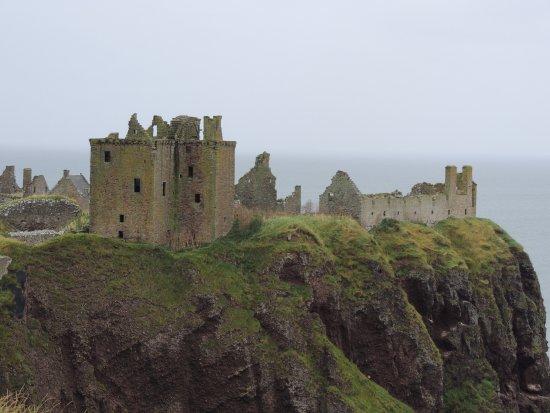 Stonehaven, UK: Castle view