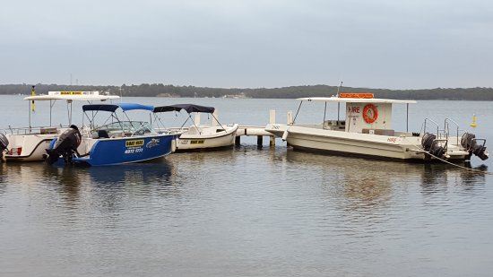 Cams Wharf, Australia: Our Hire Boats, Advance Bookings recommended