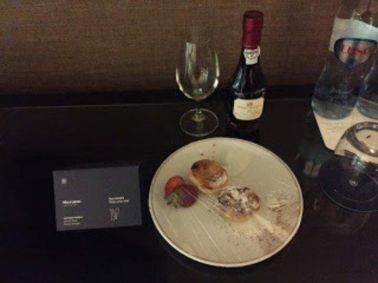 Sheraton Lisboa Hotel & Spa: Welcome Gift