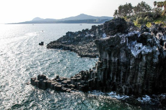 The Volcanic Island Day Tour in Jeju...