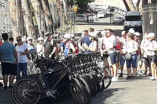 Tour guidato in bici del centro