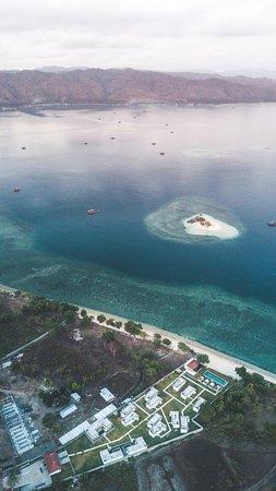 Desa Sekotong Barat, Indonesia: You could swim to Gili Kadis