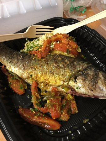 Lombardino's Restaurant: sea bass