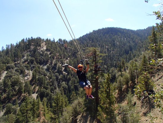 Wrightwood, CA: Flying high