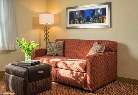 Williston, VT: Two-Bedroom Suite - Living Room