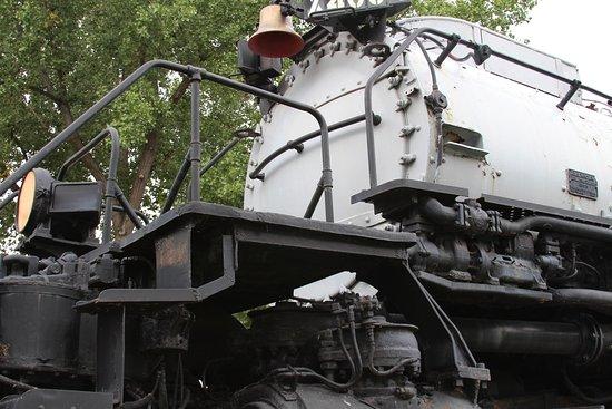 Big Boy Steam Engine: Big Boy Front View