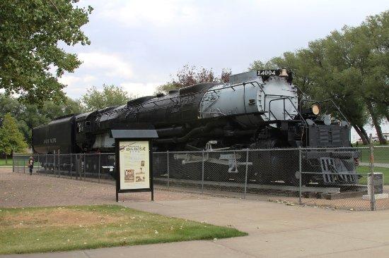 Big Boy Steam Engine Left Side