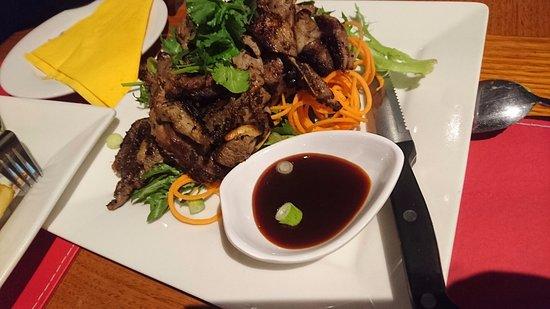 Tumut, Avustralya: BBQ lamb