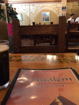 Jerusalem Restaurant & Cafe: New and improved dinning room
