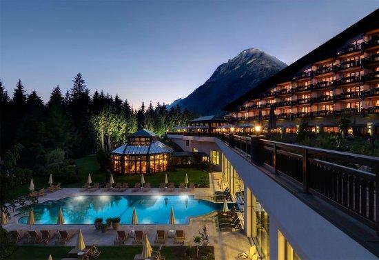 Telfs, Austria: Evening in the luxury hotel