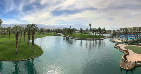 JW Marriott Desert Springs Resort & Spa: View from the room - its best feature.
