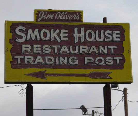 Monteagle, TN : sign for Smoke House Restaurant