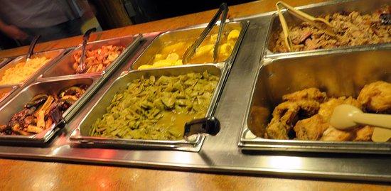 Monteagle, TN : buffet selections
