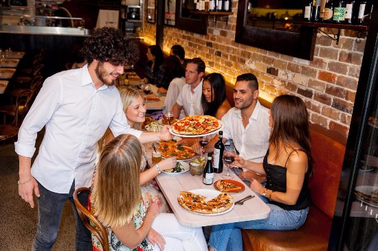 The Italian Bar Pizza: Celebrations