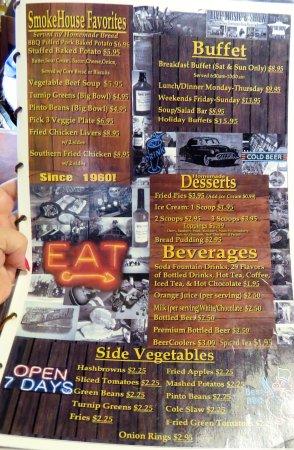 Monteagle, Τενεσί: buffet & more