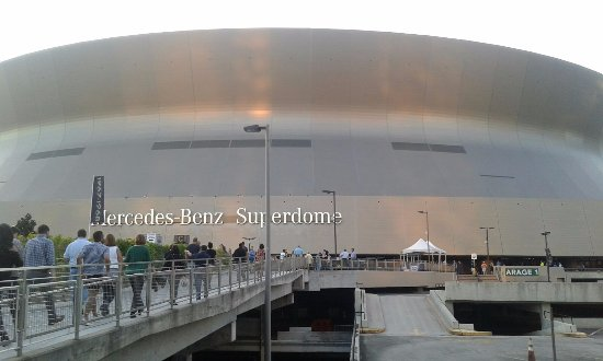 Inside pic of superdome roog picture of mercedes benz for Mercedes benz superdome new orleans la