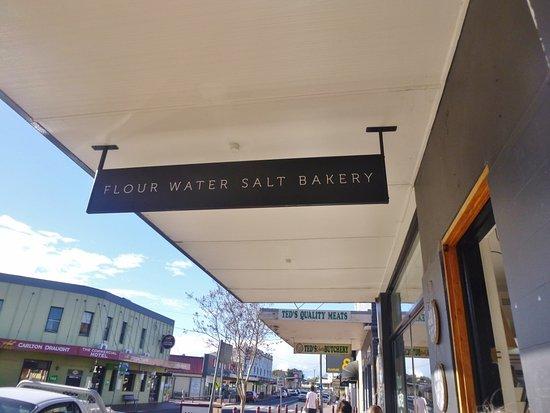 Milton, أستراليا: Signage