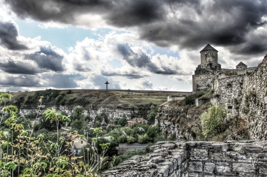 Kamianets-Podilskyi, Ucrania: Beautiful old castle in Kamenets Podolsky