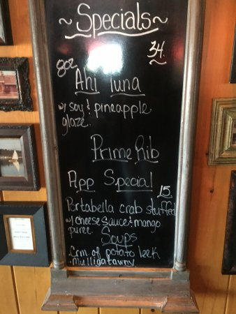 Green Lake, WI: yummy specials