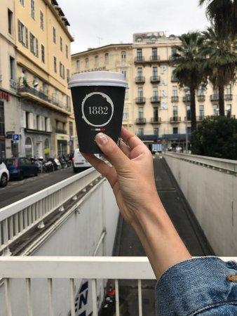 Caffe Vergnano 1882: Действитель вкусный капучино за 2,4 евро🙏🏼