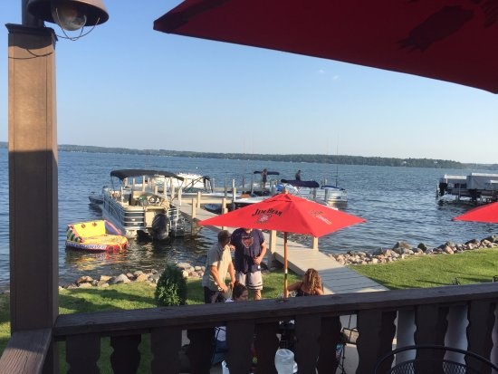 Green Lake, WI: ahhh...summer! Come in your boat!