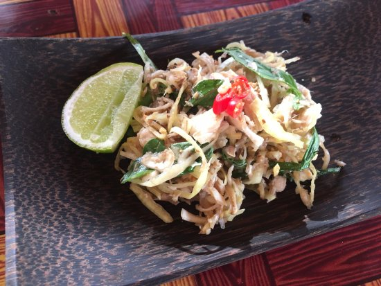 Siem Reap Countryside Cooking Class: end product - the banana salad