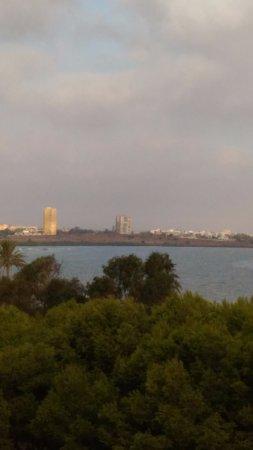 Region of Murcia, Spain: Мар Менор на плайя Хонда (вид из апартаментов с 5-го этажа