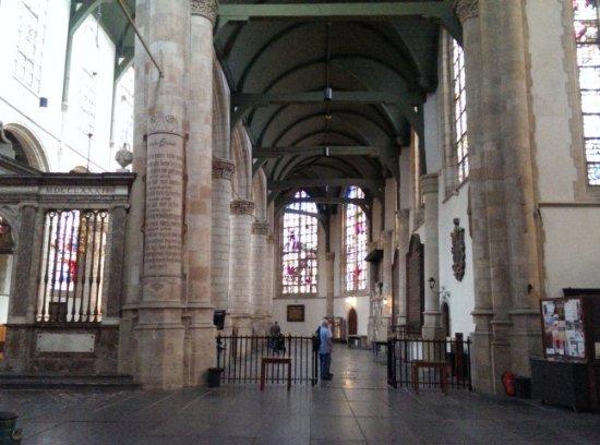 sint Jans kerk Gouda, de langste kerk van Nederland