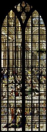 Sint Janskerk Gouda, de bestraffing van Heliodorus