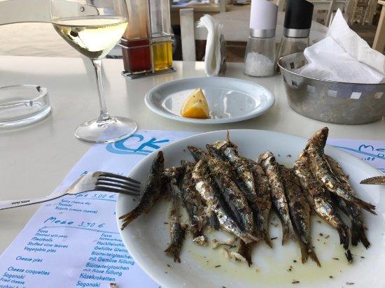 Agios Nikolaos, Grèce : sardines:)