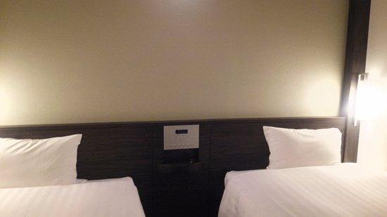 Hotel Active Hiroshima: お部屋、狭い