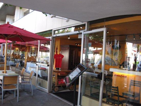 Arancino di Mare: レストラン入口