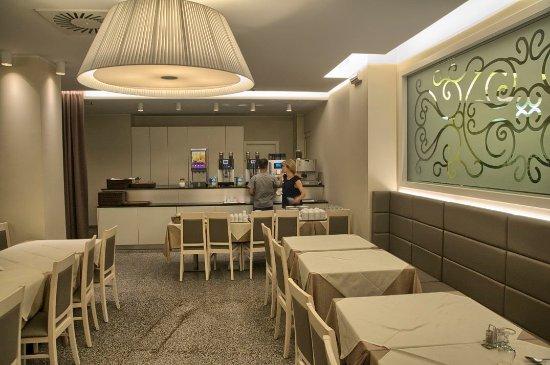 Hotel Terme Paradiso: Angolo caffè